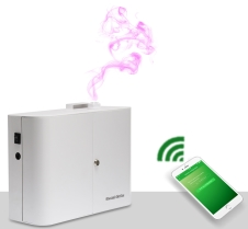WiFi App controlled fragrance machines
