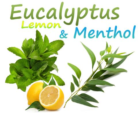 Eucalyptus Menthol and Lemon