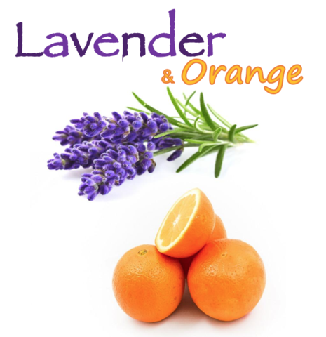 Lavender & Orange (Natural)