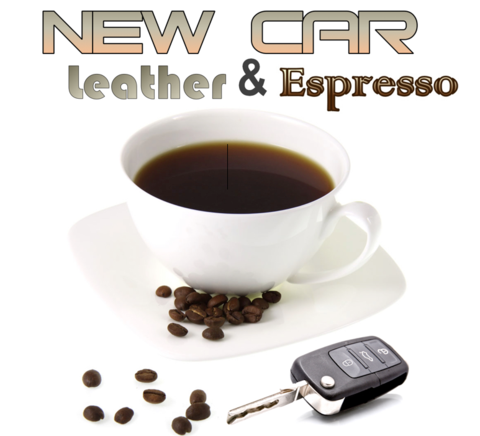 New Car Leather & Espresso