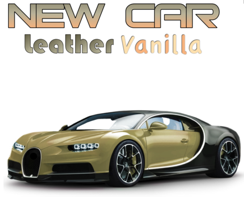 New Car Leather & Vanilla