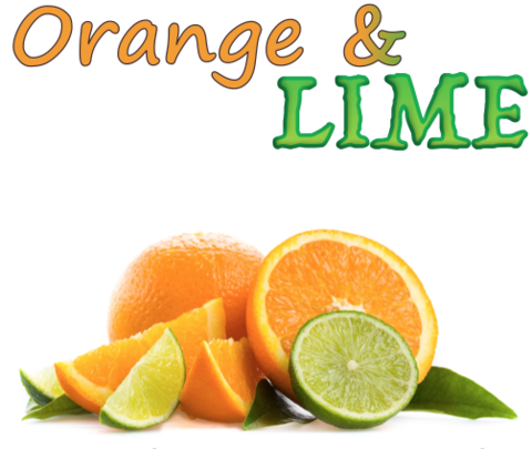 Orange & Lime (Natural)