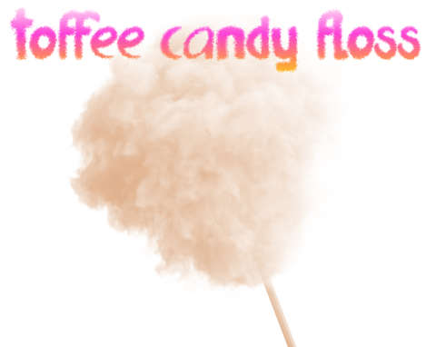 Toffee Candy Floss