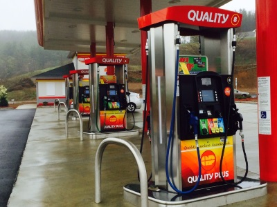Disperse enticing scents across your filling station forecourt.