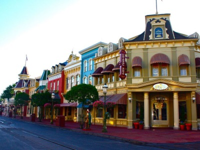 Main Street USA Candy shop with their inviting sweet aromas is worth a look.